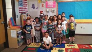 Linda's PM preschool class 2015